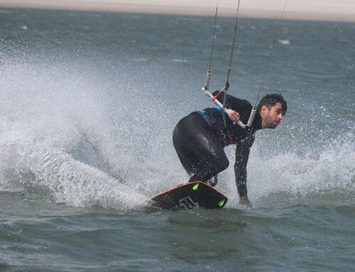 Van richting wisselen kitesurfen