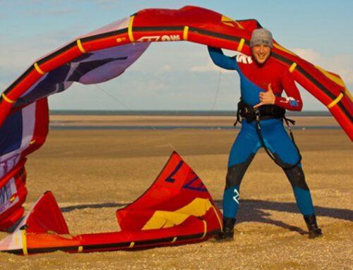 Basisuitrusting kitesurfen