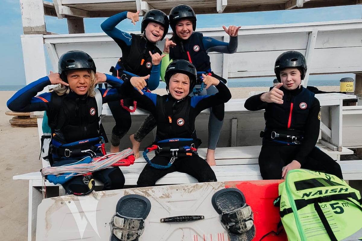 Kinderkamp kitesurfen Scheveningen