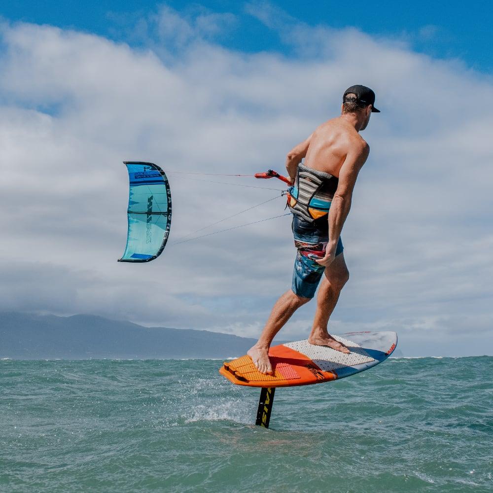 Foil les kitesurfen