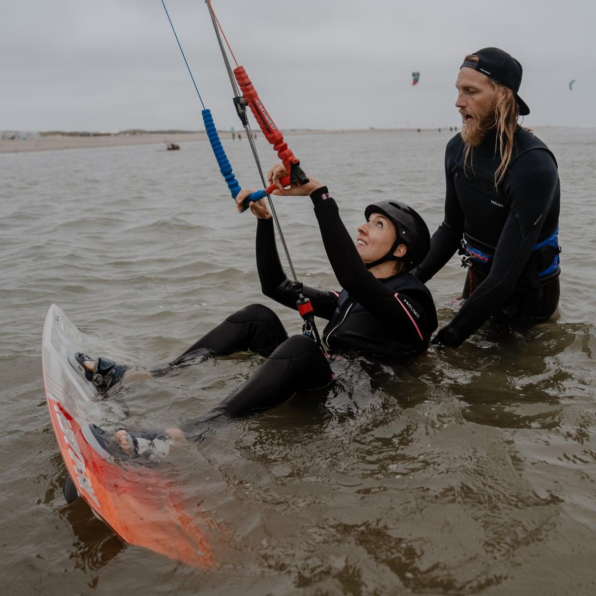 Leren kitesurfen Scheveningen