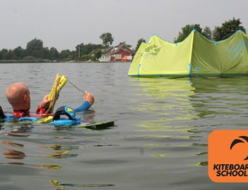 Selfrescue kitesurfen