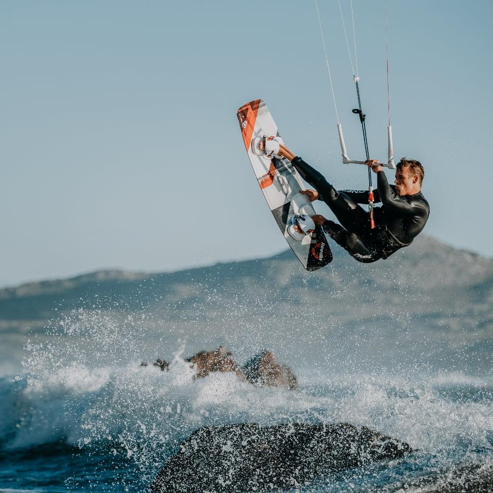 Kitesurfen leren online