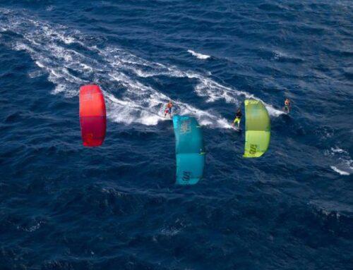 Upwind varen kitesurfen