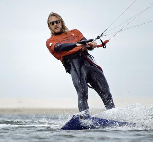 Handleiding kitesurfen