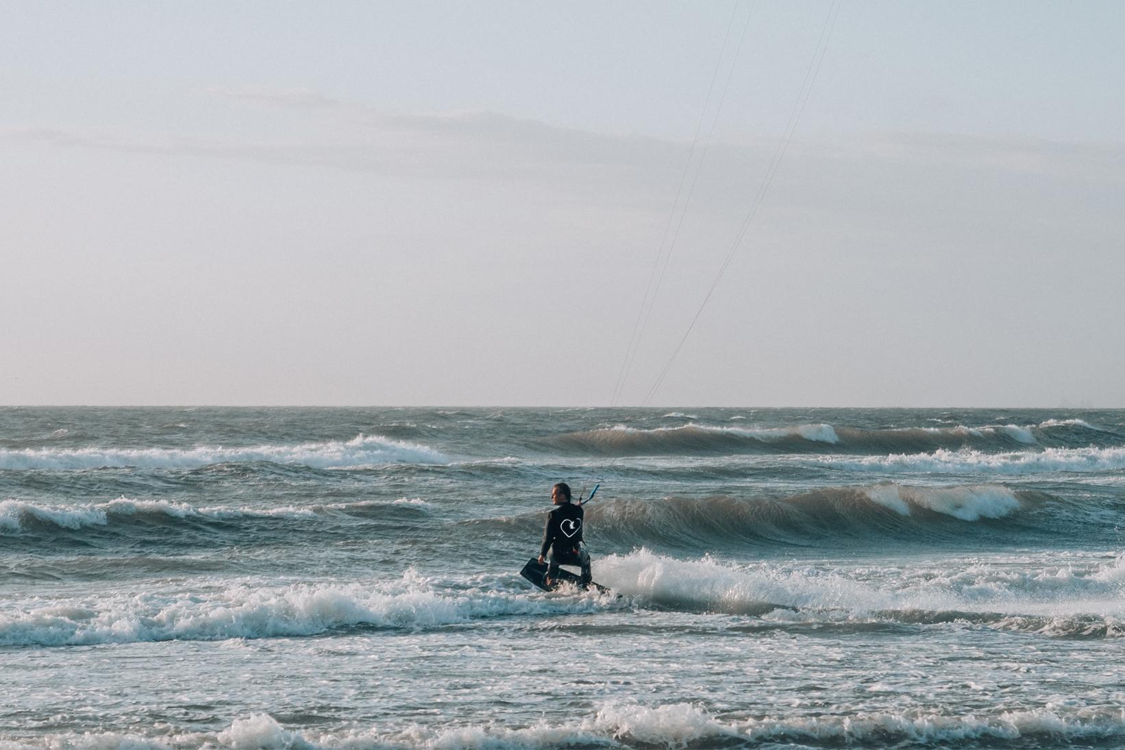 Kitesurfles Oesterdam